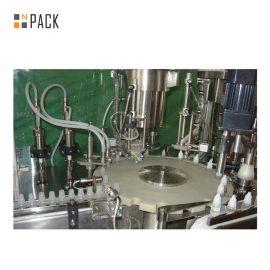 Ķīmisko vielu pudeļu uzpildes līnija / putojošo mazgāšanas līdzekļu iepildīšanas mašīnu līnija ar servo uzpildes mašīnu