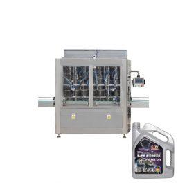 1l-5l 4 galvas virzuļa smēreļļas elektriskā automātiskā šķidruma iepildīšanas mašīna pudelei