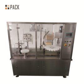 Efektīva losjonu pildīšanas mašīna / automātiska kosmētisko pudeļu pildīšanas mašīna
