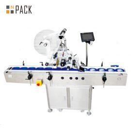 Elektriskā lidmašīnas pašlīmējošā marķēšanas mašīna, kartona / kannas / maisa marķēšanas mašīna