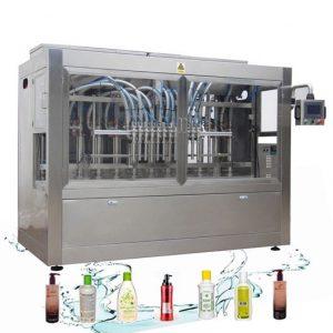 Automātiska korozijizturīga šķidruma iepildīšanas līnijas veļas mazgāšanas līdzekļa iepildīšanas mašīna
