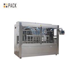12 sprauslu automātiskā tīrīšanas līdzekļa šķidruma iepildīšanas mašīna 30 ml – 5L automātiska pildījuma uz laiku bāzes