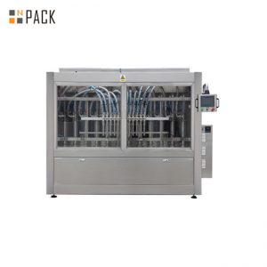 100ml - 1L automātiska šķidrās pudeles pildīšanas mašīna, Clorox / balinātāja / skābes pildīšanas mašīna