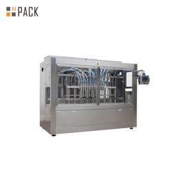 16 sprauslu automātiskā lineārā šķidruma iepildīšanas mašīna, plastmasas pudeļu iepildīšanas mašīna