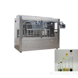 Virzuļa intelektuālās iesmidzināšanas uzpildes mašīna 0,5-5L pudeļu / skārda kārbām