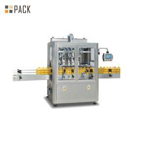 8 galvu trauku mazgāšanas virzuļa iepildīšanas mašīna ar lielu servo pildvielu 3000 B / H
