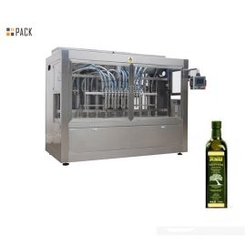 Augstas efektivitātes kokosriekstu / olīveļļas iepildīšanas mašīna, kas neizplūst ar servo pildvielu