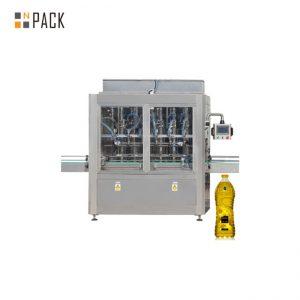 220 V / 380 V barošanas avota pārtikas eļļas iepildīšanas mašīnas skārienekrāna darbība