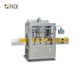 Industriāla automātiska šķidruma uzpildes iekārta kosmētikas / pārtikas rūpniecībai