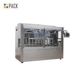Automātiska augstas viskozitātes medus pastas / mērces lineārā pildīšanas iekārta
