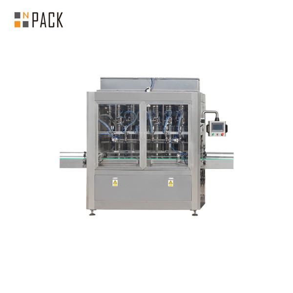 Automātiska šķidru pudeļu pildīšanas mašīna