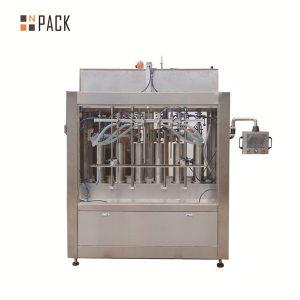 Pneimatiskā krējuma pastas šķidruma pildīšanas mašīna pudeļu pildīšanai