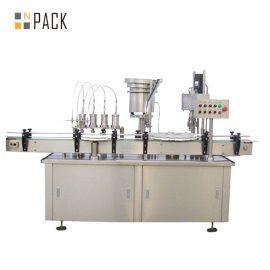 Izsmidzināmo smaržu flakona šķidruma iepildīšanas mašīna Automātiska pudeļu pildīšanas iekārta ir izturīga