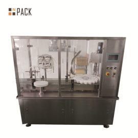 Automātiska flakona pudeļu iepildīšanas mašīna ar peristaltiskā sūkņa piepildīšanu