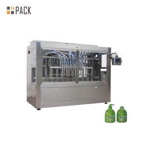Lineārā 1L trauku mazgājamā mašīna PET pudeļu pildīšanas līnija ar pudeļu atšifrēšanas mašīnu